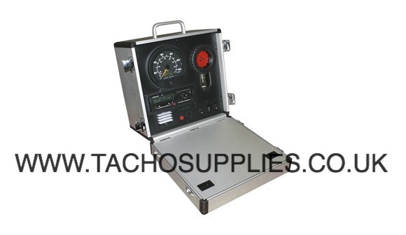 TACHOGRAPH DEMO CASE AND 5 CARDS
