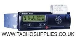 SCANIA VDO 1381 2.0 DTCO TACHOGRAPH HEAD CAN 120 D1/D2 24 VOLT