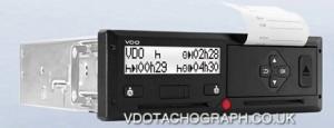 VDO TACHOGRAPH DTCO 2.2 DIGITAL TACHOGRAPH HEAD