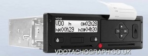 MERCEDES ACTROS VDO 1381 2.2  DTCO DIGITAL TACHOGRAPH HEAD