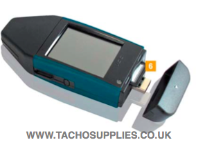 scania digital tachograph instructions