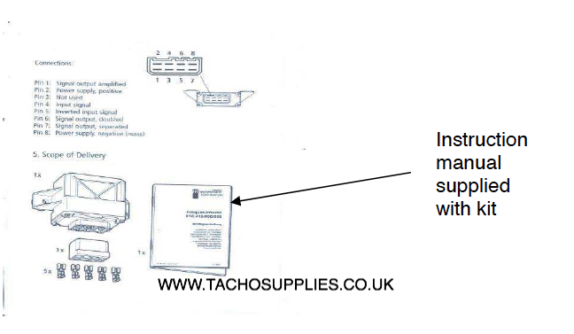 toyota hi lux tachograph fitting instructions manual 2006 on rh vdotachograph co uk VDO Volt Gauge Wiring VDO Electronic Speedometer Wiring